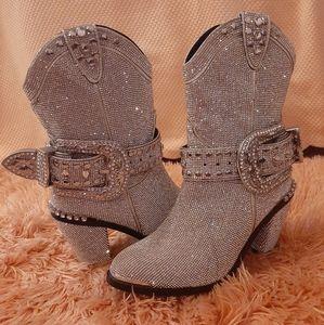 (Dollskill) Ladies bling boots